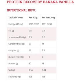 High5 Protein Recovery Drink Box Banana-Vanilla 9 x 60g